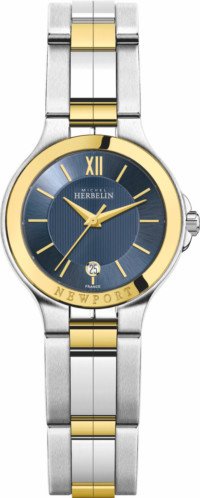 newport_royale-14298-bt15-michel_herbelin-damenarmbanduhr-quarzwerk-bicolor