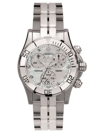 newport_trophy_grand_sport-34596-w89bw-michel_herbelin-damenarmbanduhr-chrono-bicolor